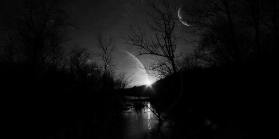 Вхэллоуинскую ночь можно было наблюдать «черную» Луну