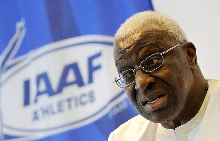 Прошедший управляющий IAAF Диак выпущен насвободу под залог вполмиллиона евро