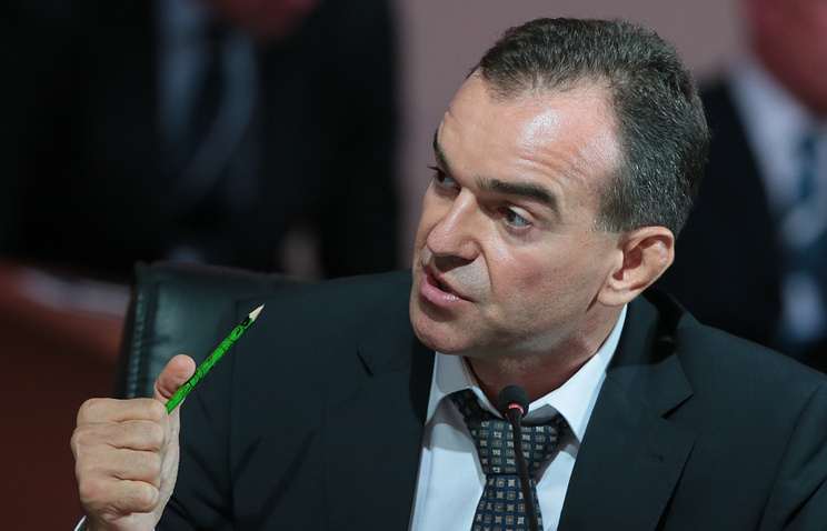 Краснодарский край рассчитывает нарост в2017г ВРП на1,5% - губернатор