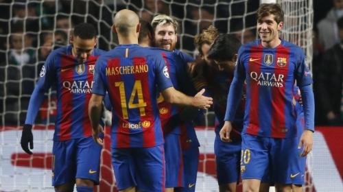 Видео матча «Барселона»— «Эркулес»