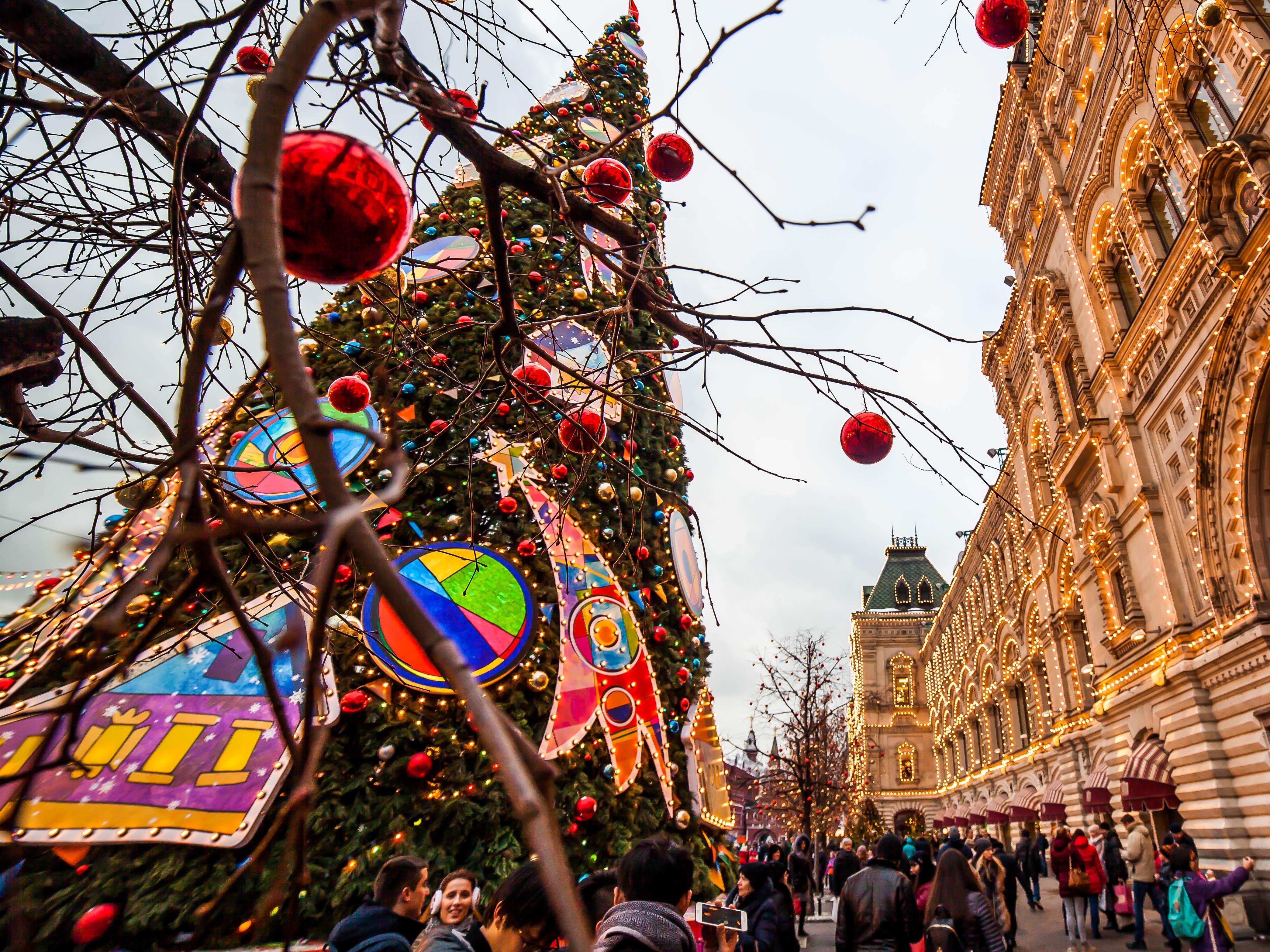 Праздник пришел. НаНовый год в российской столице гуляли 3 млн человек
