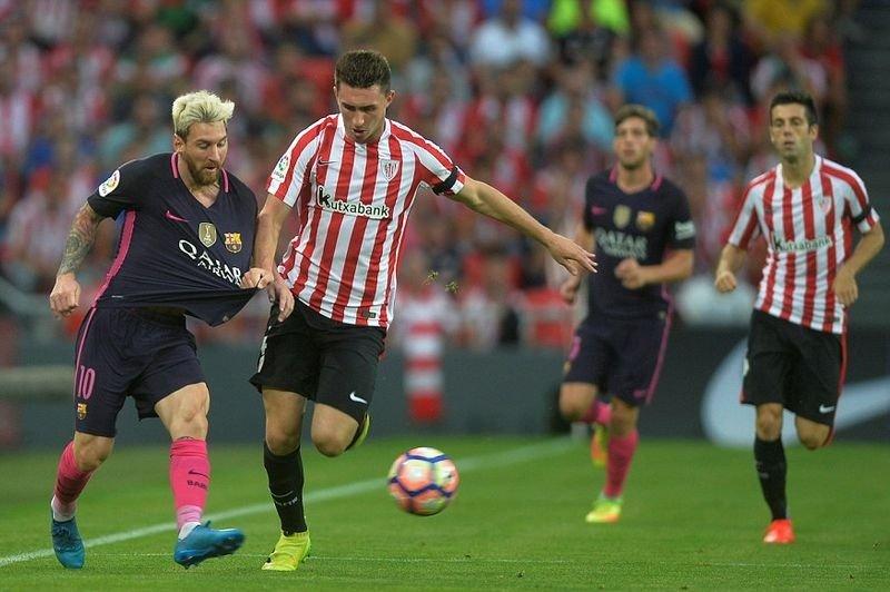 Гол Месси неспас «Барселону» вкубковой игре с«Атлетиком»