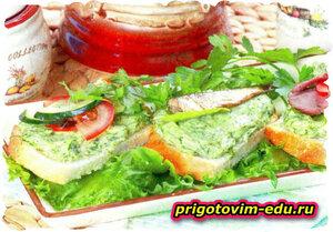 Бутерброды «Укропчик»