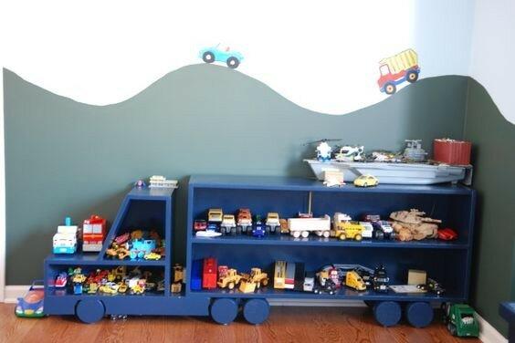 Где хранить игрушечные машинки