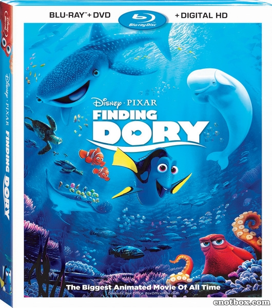 В поисках Дори / Finding Dory (2016/BD-Remux/BDRip/HDRip/3D)