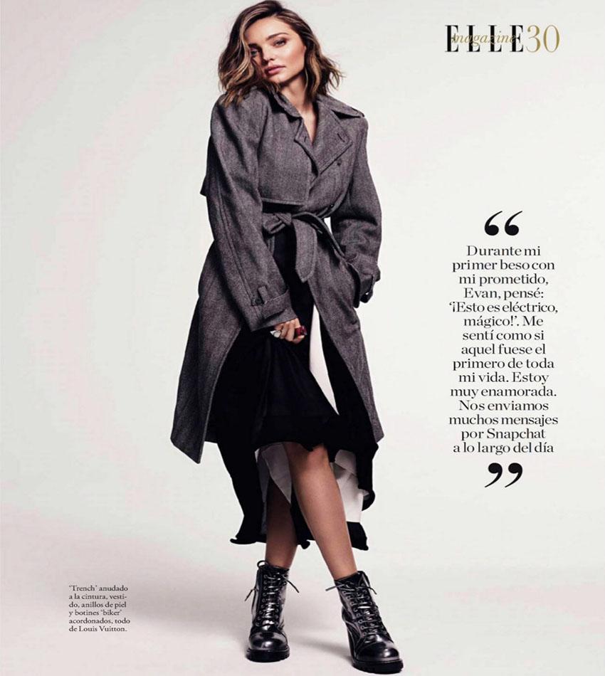 Miranda Kerr - ELLE Spain (November 2016)