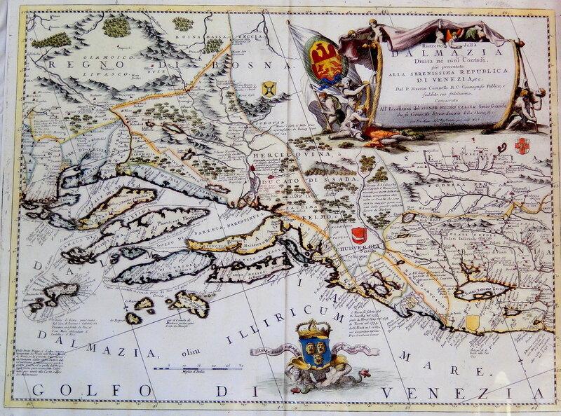 Далмация и прилегающие области в XVII веке