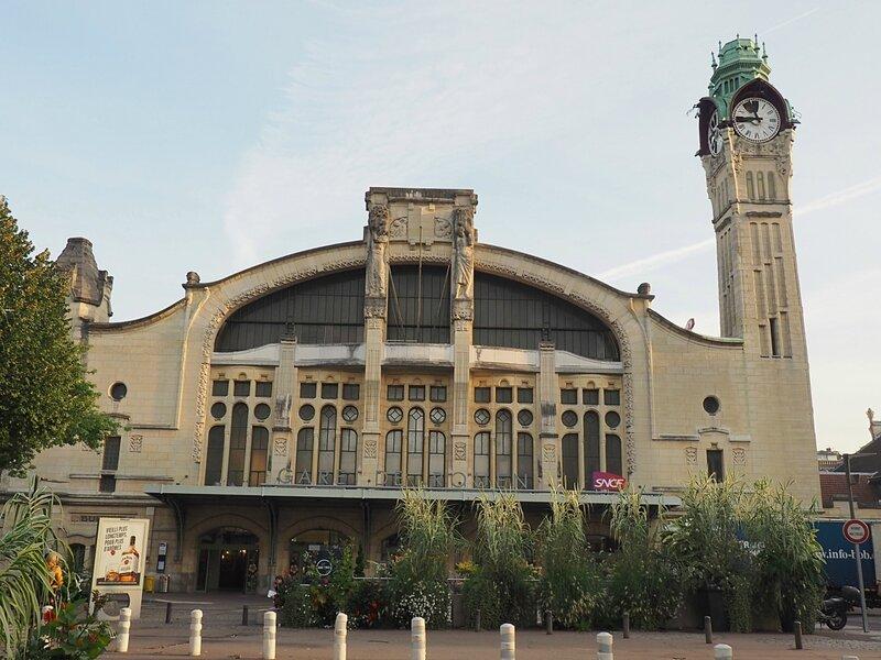 Франция, Руан - вокзал (France, Rouen - Station)