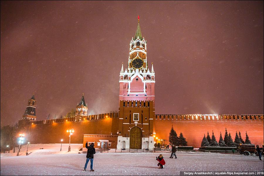 Зимняя сказка в Москве