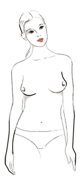 9 типов женской груди - Восток/запад