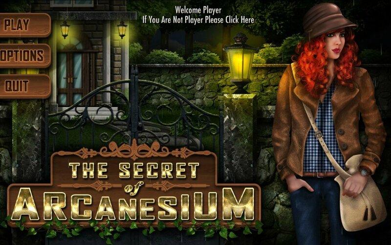 The Secret of Arcanesium