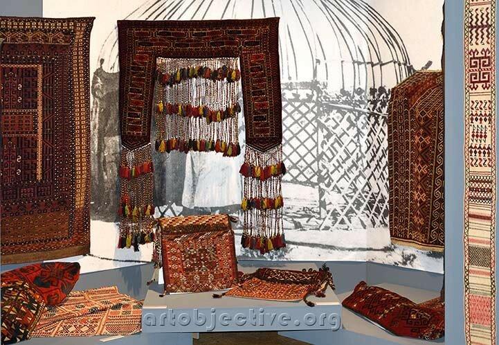 «Ковровая традиция кочевников Средней Азии: обустройство юрты»-3
