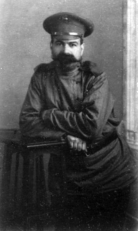 Я.М.Юровский в 1916 году