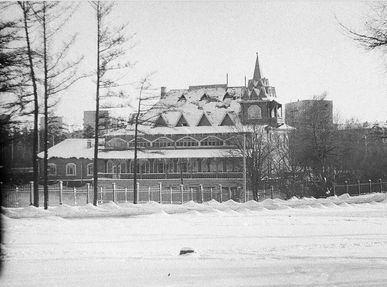 1968. Однодневный дом отдыха и ресторан Олень на Нижнем Оленьем пруду