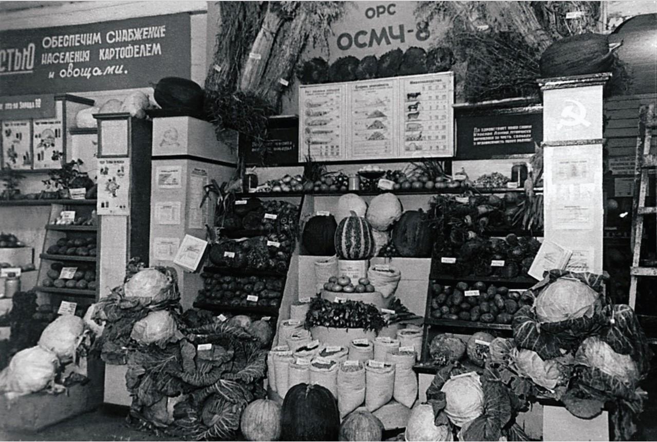 Челябинск. Городская сельскохозяйственная выставка. 1940-е