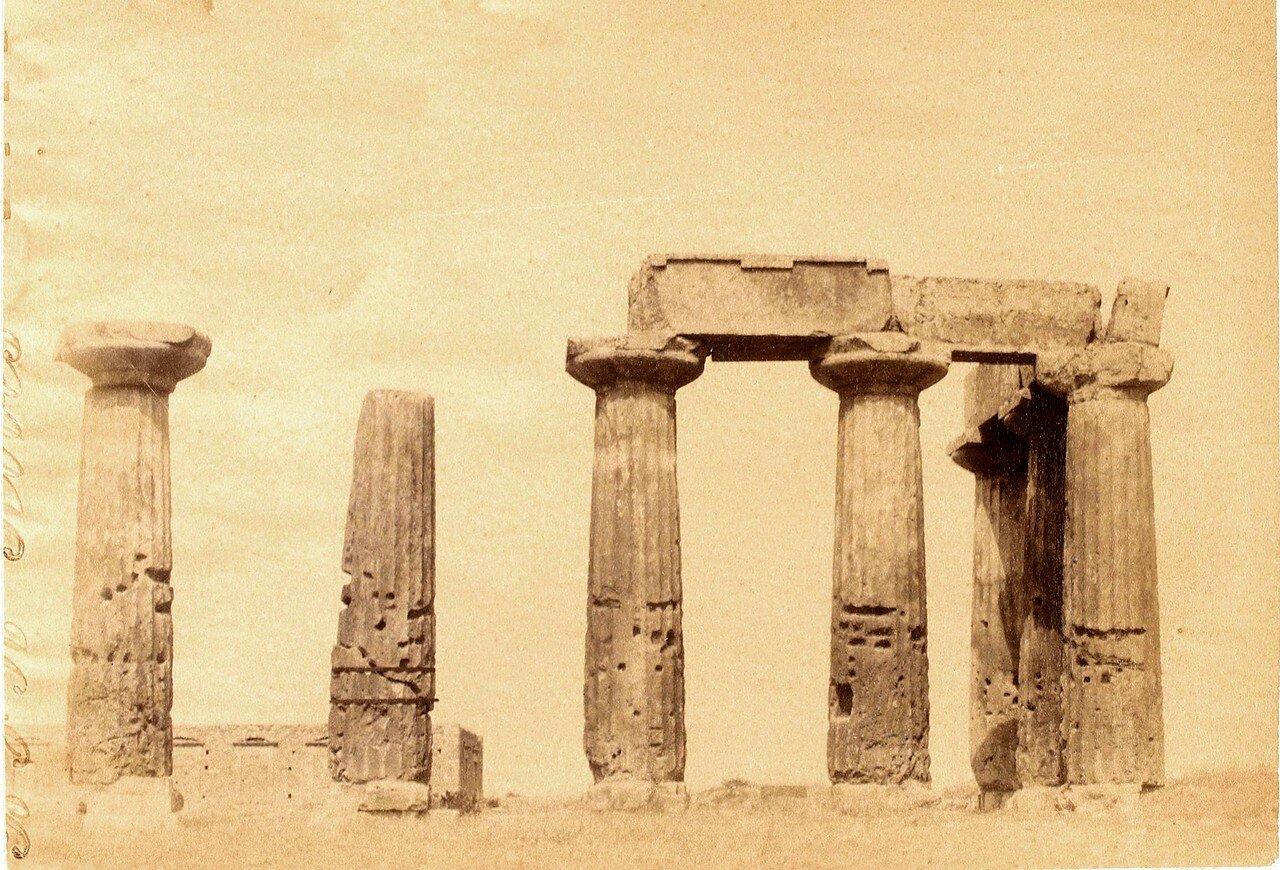 20. Коринф. Храм древнего Коринфа