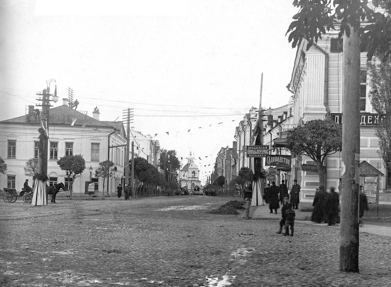 Театральная площадь и Пушкинская улица. 1912