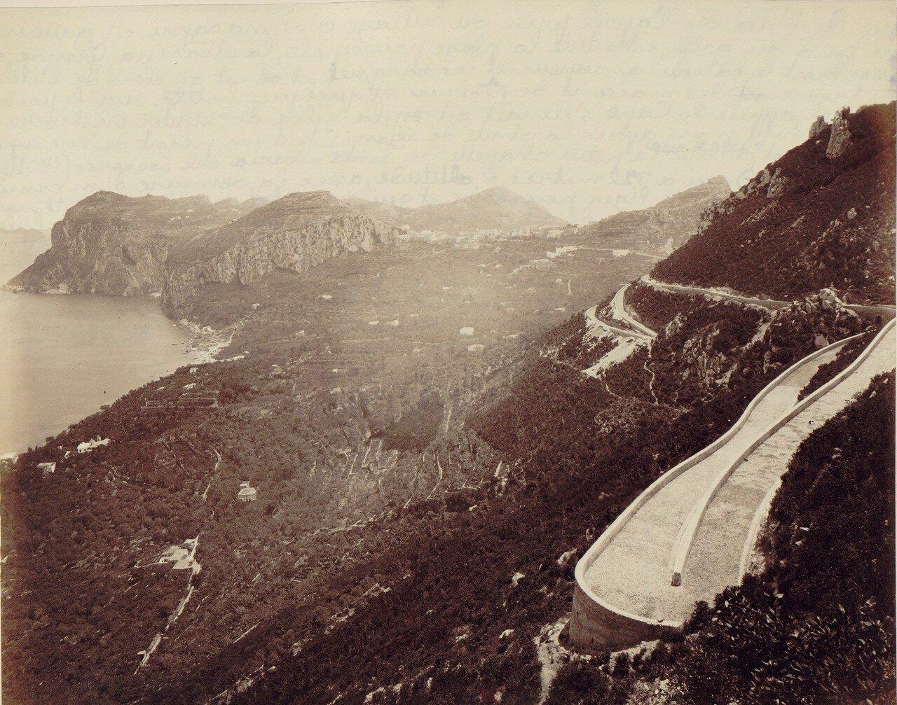103. Капри. Вид из деревни Анакапри