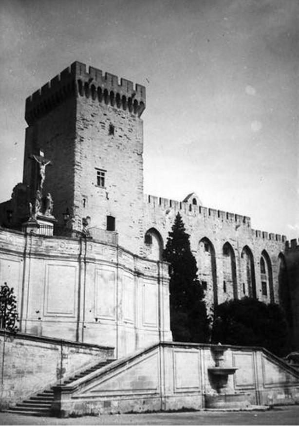 1950-е. Авиньон. Папский дворец