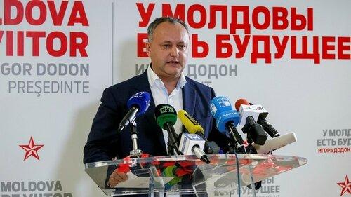 Игорь Додон одерживает победу и становится президентом Молдовы