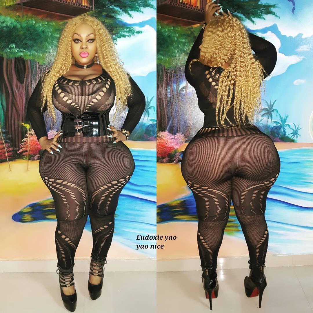 Африканская Ким Кардашьян