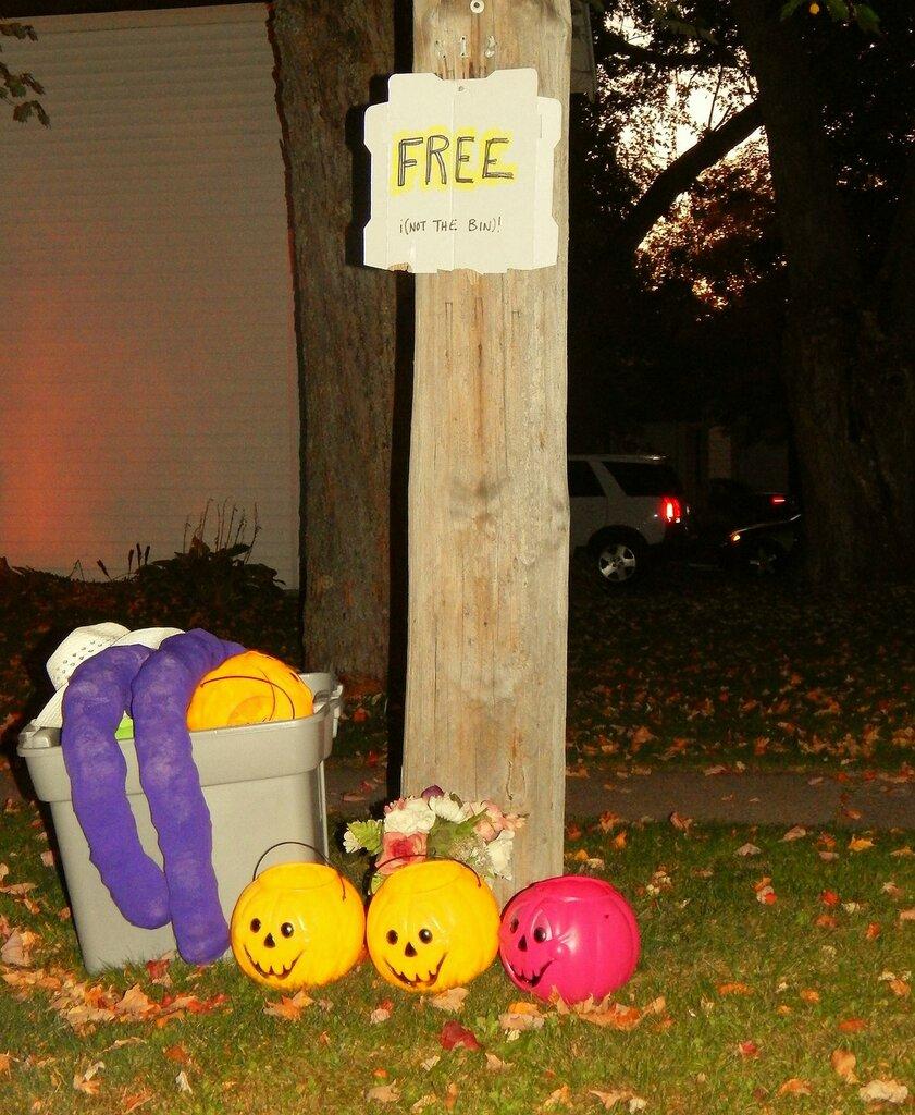 Меррилл перед Хэллоуином.