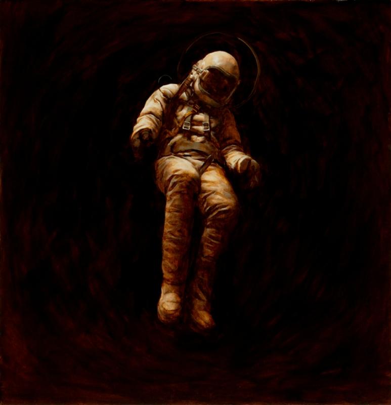 Художник Джереми Геддс: прекрасные космонавты и другие нежные герои