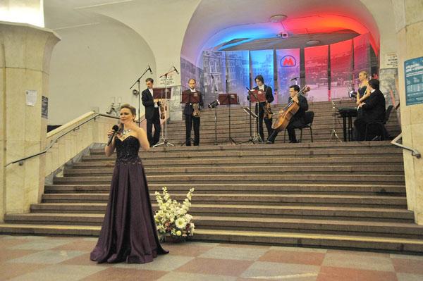 «Активные» новогиреевцы оценят проект «Музыка вметро»