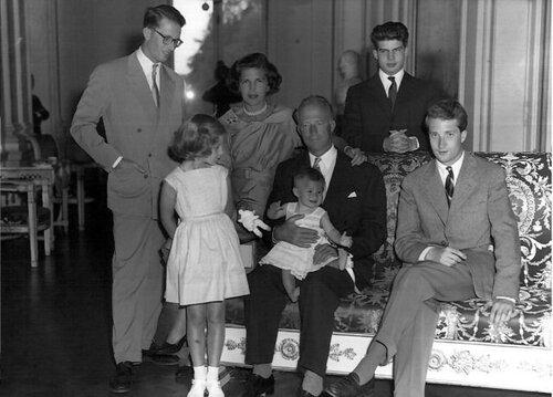 Семья. 1957 г.