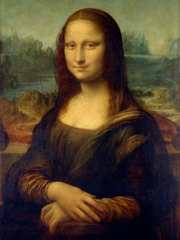 Леонардо да Винчи, Мона Лиза, 1503−1519 гг. Лиза дель Джокондо