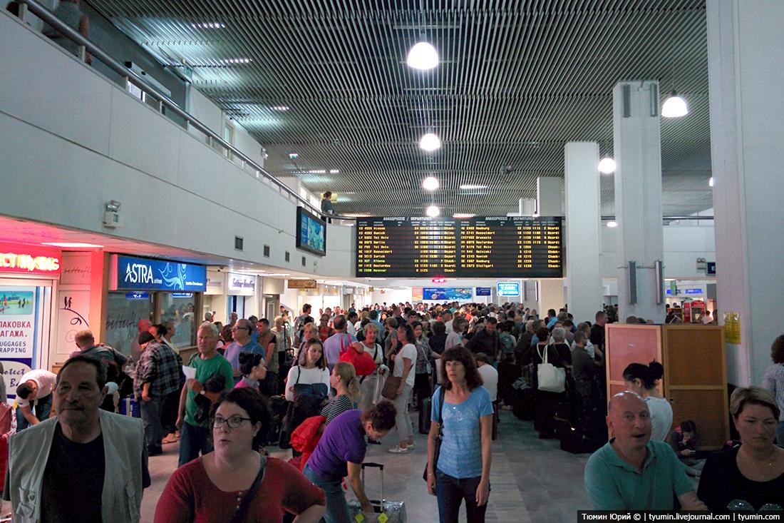 Аэропорт города Ираклион