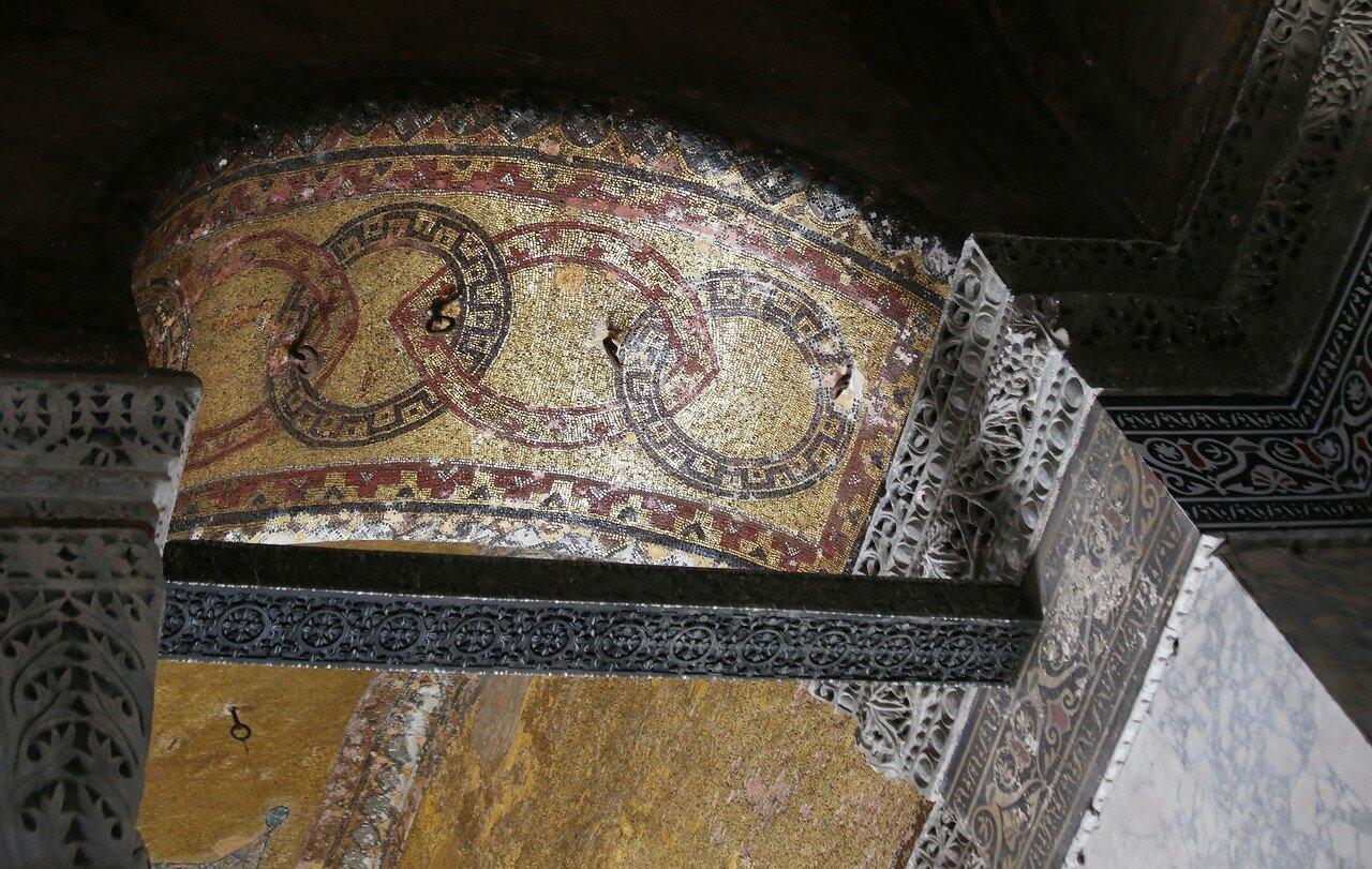 Стамбул. Собор Святой Софии. Мозаики