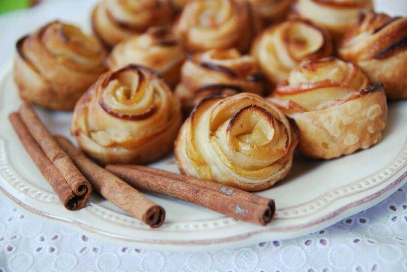 Печенье «Розы» к чаю