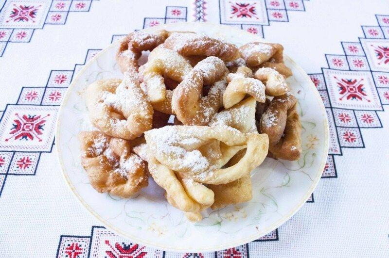 Оригинальное печенье «хворост» (вергуны)