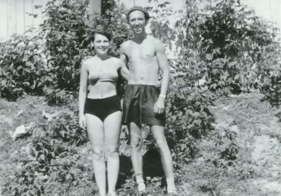 5. Юрий Никулин с супругой в Уфе, фото из архива Татьяны Никулиной