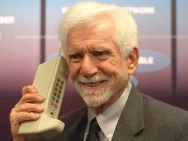 Сотовый телефон в прошлом.