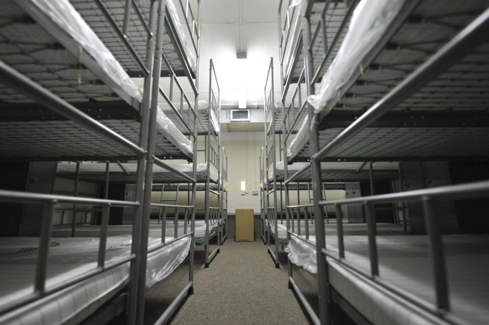 Общежитие бункера. В случае необходимости система жизнеобеспечения бункера может работать автономно