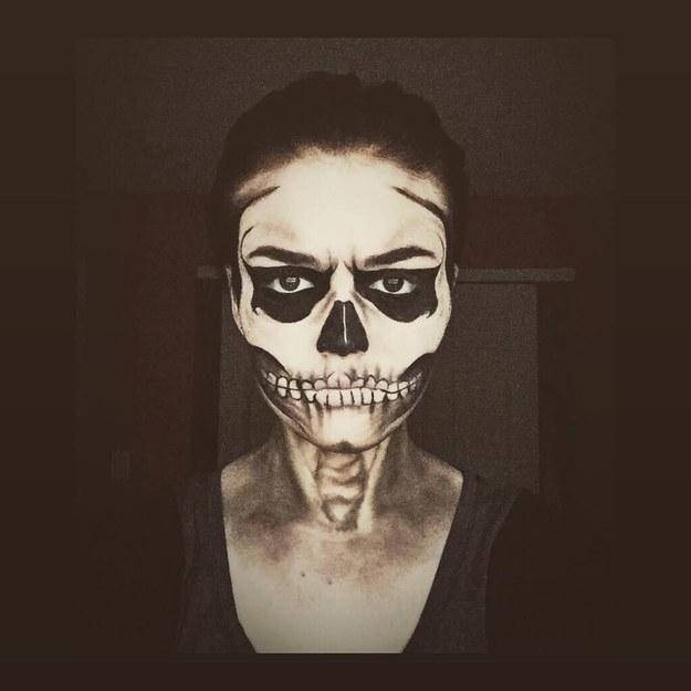 Еще один скелет.