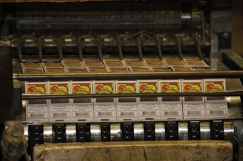 14.Спички «Зебра» — это для экспорта в Турцию и прочие Египты. Триколорные плохонькие коробки для с