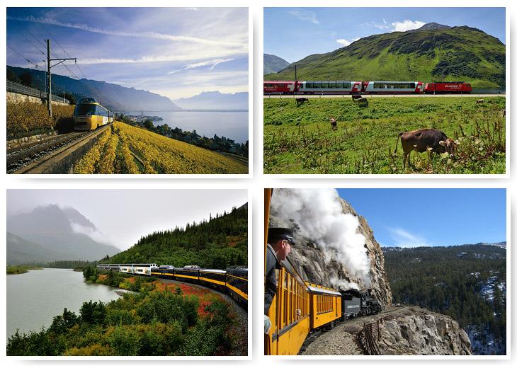 Постой, паровоз: 7 живописных железнодорожных маршрутов (22 фото)