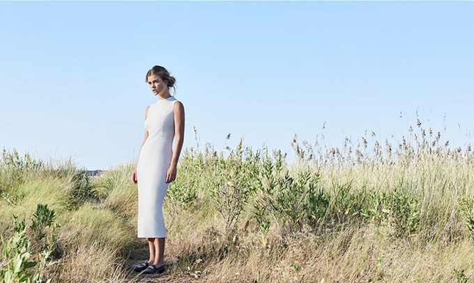 Нина Агдал в рекламной кампании Massimo Dutti