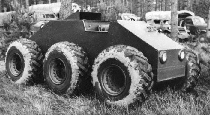 Экспериментальный внедорожник ЗИС-Э134 (Макет № 3).
