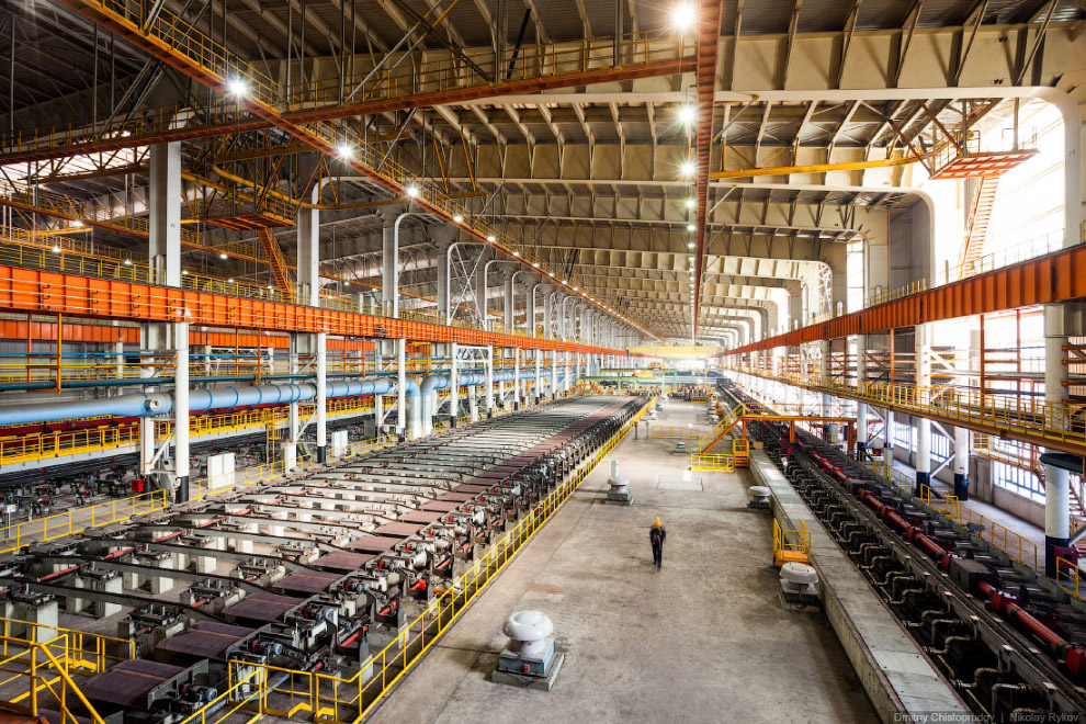 Для строительства нового стана изготовлено 15 500 тонн металлоконструкций — это равняется двум