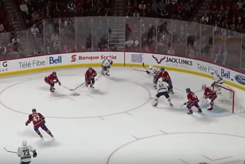 Судья НХЛ засчитал минувшую мимо ворот шайбу Радулова