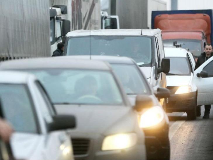Дороги украинской столицы парализовали 6-балльные пробки