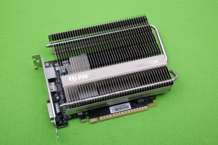 Palit GeForce GTX 1050 TiKalmX— новая видеокарта спассивной системой охлаждения