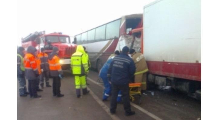 Автобус сбеженцами из«ЛДНР» попал вДТП в Российской Федерации , есть пострадавшие