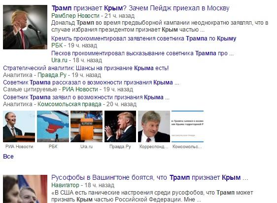 США и русский Крым