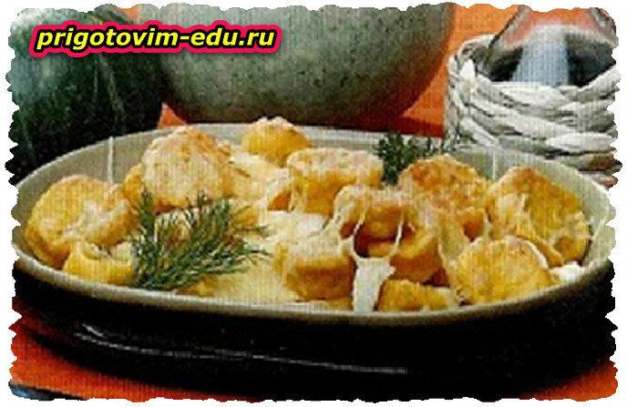 Тыквенные орешки, залеченные с сыром