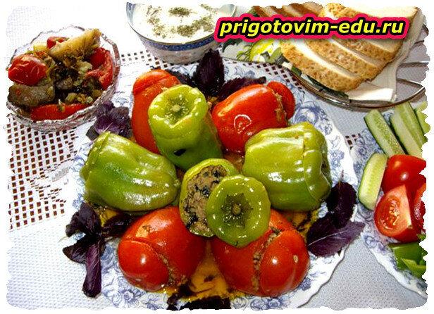 Толма летняя эчмиадзинская . Армянская кухня